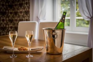 Manoir de Kerhuel de Quimper, Hotely  Plonéour-Lanvern - big - 16