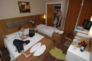Oba Star Hotel - Ultra All Inclusive, Hotely  Alanya - big - 10