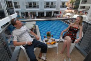 Oba Star Hotel - Ultra All Inclusive, Hotely  Alanya - big - 9