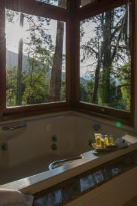 Chalet with Spa Bath, View and Flirt Chair
