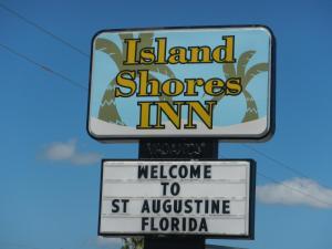 Island Shores Inn, Мотели  Сент-Огастин - big - 1