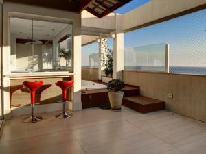 LinkHouse Beachfront Apart Hotel, Apartmanok  Rio de Janeiro - big - 10