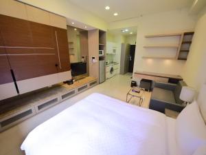 CK Serviced Residence, Апартаменты  Тайбэй - big - 43