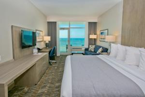 King Room with Private Balcony - Beachfront
