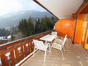 Apartment Faucon B5, Apartmány  Villars-sur-Ollon - big - 13