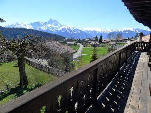 Chalet Riant Soleil, Holiday homes  Arveyes - big - 14