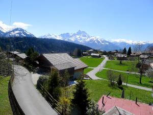 Chalet Riant Soleil, Holiday homes  Arveyes - big - 13