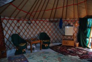 Almond Grove Yurt Hotel, Zelt-Lodges  Ábrahámhegy - big - 30