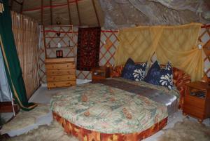Almond Grove Yurt Hotel, Zelt-Lodges  Ábrahámhegy - big - 29