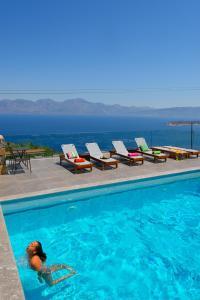 Villa Olga, Vily  Agios Nikolaos - big - 76