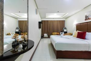 JMM Grand Suites, Apartmanhotelek  Manila - big - 11
