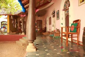 Disount Hotel Selection Indien Pondicherry Wunderhaus Zimmer - Fliesen mit eigenem foto