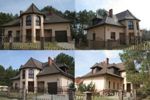 Dom nad jeziorem w Lipach