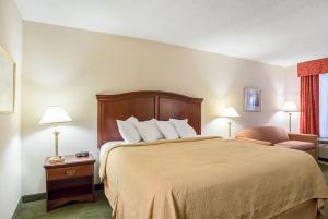 Pokój dla palących z łóżkiem typu king-size