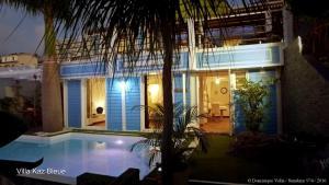 La Villa Kaz Bleue, Villas  Le Bois de Nèfles - big - 30