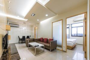CK Serviced Residence, Апартаменты  Тайбэй - big - 5
