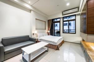 CK Serviced Residence, Апартаменты  Тайбэй - big - 46