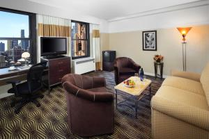 New Yorker-suite med queensize-seng