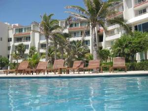 Beach Front Penthouse, Appartamenti  Cancún - big - 19