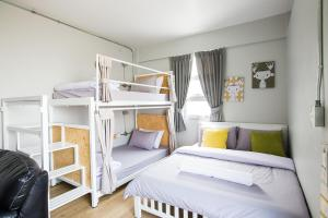 Superior Private Bunk bed and Double bed with shared Bathroom
