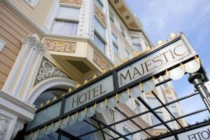 Hotel Majestic, Отели  Сан-Франциско - big - 30