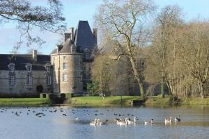 Chateau de Canisy, Hotely  Canisy - big - 41