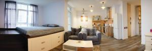 European style VIP flat, Appartamenti  Kiev - big - 27