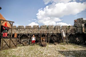 Kiermusy Dworek nad Łąkami, Guest houses  Kiermusy - big - 32