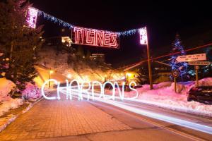 Chalet Chardons Hostel, Отели  Тинь - big - 18