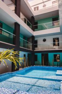 Hotel Flamingo Merida, Отели  Мерида - big - 28