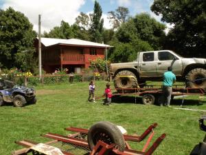 Posada Los Arriesgados, Chalets  Melipeuco - big - 17