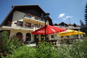 Hotel Ruia, Hotely  Poiana Brasov - big - 42