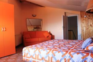Villa Panoramica Belvedere, Apartmanok  Scontrone - big - 34