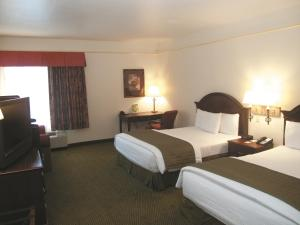 Deluxe Queen Room with Two Queen Beds and Sofa Bed
