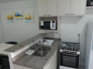 Beach Class Residence Service, Apartments  Fortaleza - big - 17