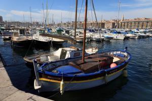 Les Patios du Vieux Port, Апартаменты  Марсель - big - 5