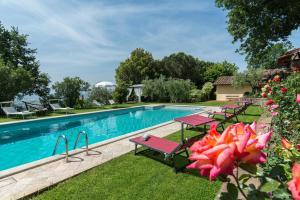 Casa Maria Laura, Villen  Cortona - big - 34