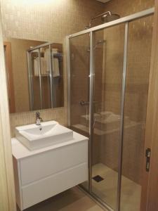 Apartamentos Turisticos da Nazare, Апарт-отели  Назаре - big - 12