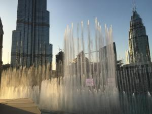 Downtown Souk Al Bahar Apartment with Full Fountain and Burj Khalifa Views