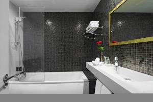 Deluxe-dobbeltværelse med separat opholdsområde