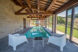 Country House Ca' Brunello, Дома для отпуска  Урбино - big - 11
