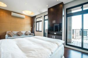 CK Serviced Residence, Апартаменты  Тайбэй - big - 19