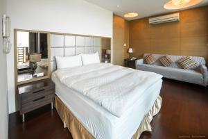 CK Serviced Residence, Апартаменты  Тайбэй - big - 18