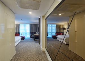 Habitación Deluxe con cama extragrande - Vistas a la ciudad
