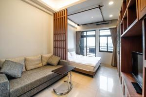 CK Serviced Residence, Апартаменты  Тайбэй - big - 16