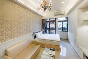 CK Serviced Residence, Апартаменты  Тайбэй - big - 14