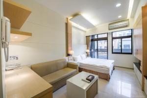 CK Serviced Residence, Апартаменты  Тайбэй - big - 13
