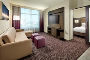 Deluxe King Suite, 1 Bedroom Suite, 1 King, Sofabed