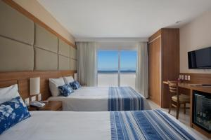 Super Deluxe Triple Room with Sea View