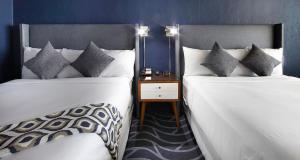 Deluxe Ocean View Room with Two Queen Beds